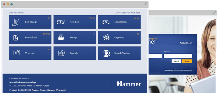 Hammer-College Management Software